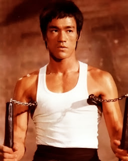 Bruce Lee, the philosopher with nunchucks