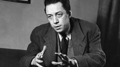 Albert Camus, French-Algerian philosopher and successful goalkeeper